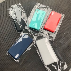 iPhone X cases. 5 different colors !